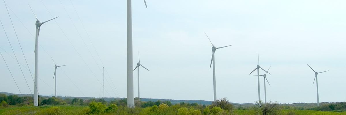 日本で多く利用されている風力発電