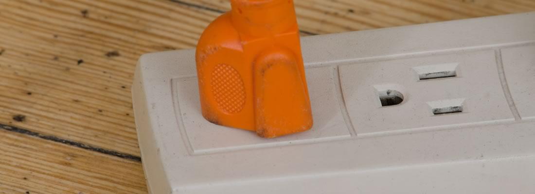 電気消費のイメージ・電源タップ